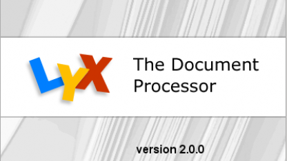 Latex-Frontend: Lyx 2.0 erhält integrierten Openoffice-Thesaurus