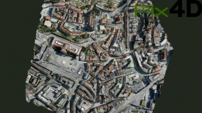Lausanne in 3D