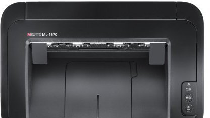 Samsung ML 1670 von oben