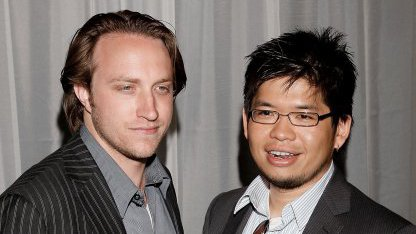 Chad Hurley (links) und Steve Chen