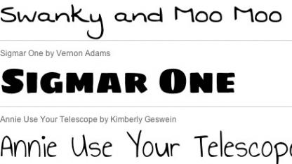 Font-API überträgt nun nur benötigte Webfont-Zeichen