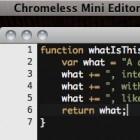 Mozilla: Chromeless 0.3 unterstützt auch C