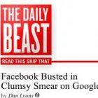 Unsoziales Netzwerken: Facebook gibt Schmierkampagne gegen Google zu