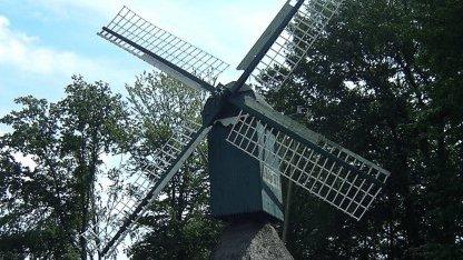 Windmühle im Museum in Cloppenburg