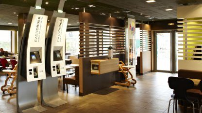 Europa: McDonald's-Kunden sollen per Touchscreen bezahlen