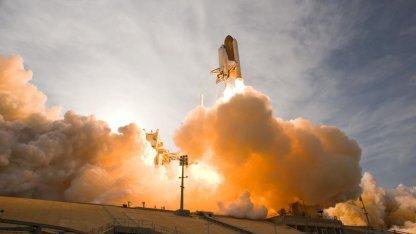 Ende der Spaceshuttle-Äre 2011: Endeavour beim Start