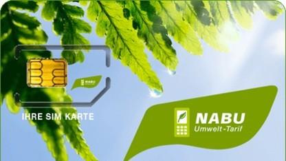 SIM-Karte des Nabu Umwelttarifs
