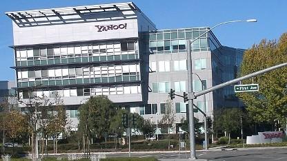 Yahoo-Hauptquartier in Sunnyvale, Kalifornien