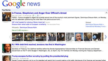 Google News in neuem Gewand
