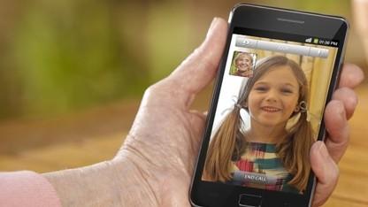 Videotelefonie mit dem Galaxy S2