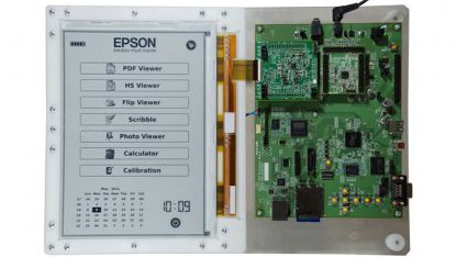 E-Inks und Epsons 300-dpi-E-Book-Reader