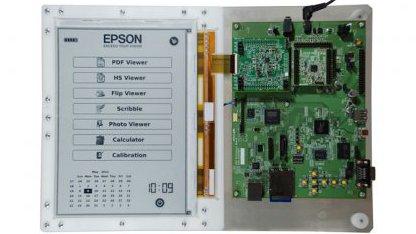 E-Inks und Epsons 300-dpi-E-Book-Reader