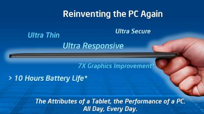 Die Vision vom Intel-Tablet 2012