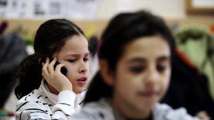 Telefonat im Unterricht