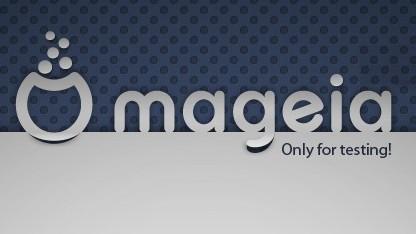 Artwork des Release-Candidate von Mageia 1