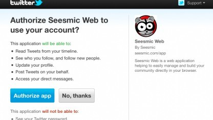 Twitter zeigt nun deutlicher, auf was App zugreifen wollen