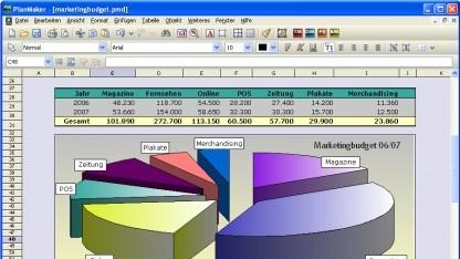 Planmaker aus Office 2008