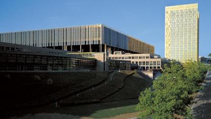 Gebäude des Gerichtshofs der EU in Luxemburg, Sitz des EuG