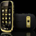 Nokia Oro: Luxus-Smartphone mit Saphir in Gold und Leder