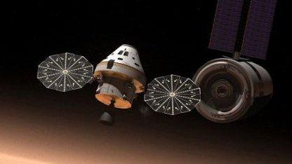 Mit dem MPCV sollen Menschen zum Mars fliegen