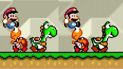 Super Mario Bros.: Original vs. Vektordarstellung