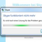 Skype: Login-Probleme und Client-Abstürze