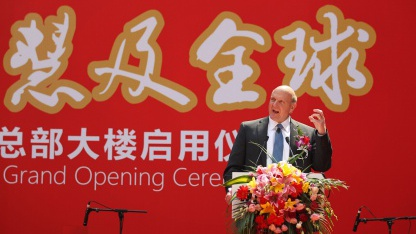 Steve Ballmer am 25. Mai in Peking