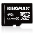 Speichermedien: Kingmax stellt microSDXC-Karte mit 64 GByte vor