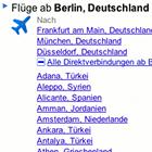 Flugsuche: Google listet Direktflüge auf