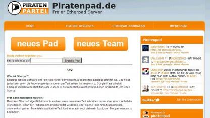 Das Piratenpad