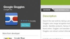 Android-Applikation: Goggles 1.4 mit Verbesserungen ist da