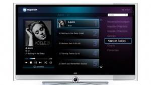 Loewe-TV mit Napster-Zugang