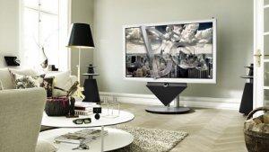 Bang & Olufsen: 3D-Fernseher mit Motorhalterung und zwei Metern Diagonale