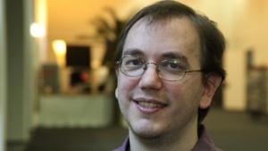 Gnome-Release-Manager Vincent Untz auf dem Linuxtag 2011
