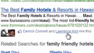 Bing.com zeigt Empfehlungen von Facebook-Freunden