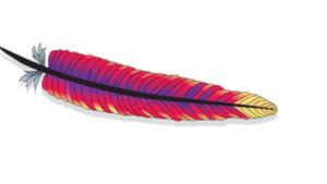 Das offizielle Logo des Apache-Projekts