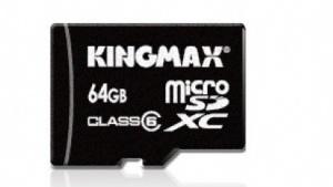 Kingmax-microSDXC-Karte