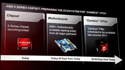 Zambezi kommt später