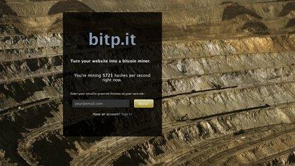 Bitp.it: Bitcoins statt Werbung?