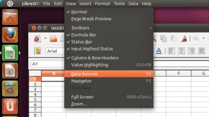Libreoffice unter Ubuntus Unity