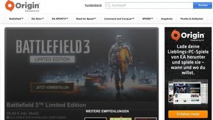 Aus EA Store wird Origin