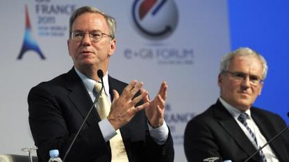 Eric Schmidt beim eG8-Forum