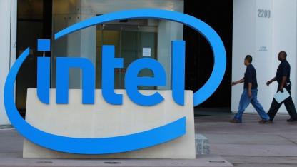 Intel-Beschäftigte in Santa Clara, Kalifornien