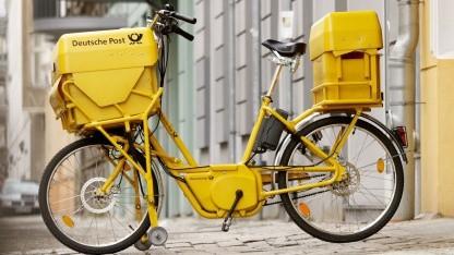 Von der Fahrradzustellung zur App-Zustellung