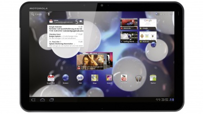 Tablet Xoom mit Android 3.0