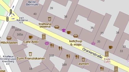 POIs von OpenStreetMap werden jetzt auch in Navigon-Systemen unterstützt.