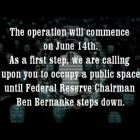 OpESR: Anonymous ruft zu Protesten gegen US-Zentralbank auf