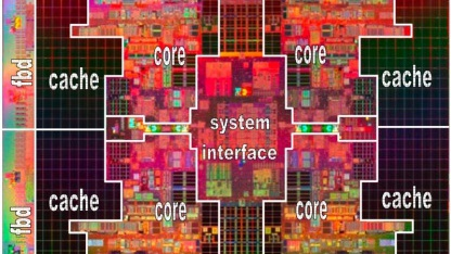 Intels aktuelle Itanium-Generation Tukwila