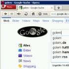 Google Instant: Sofortige Suchergebnisse nun auch in Opera