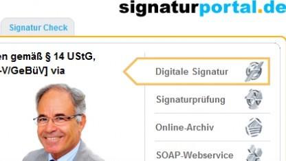 Signaturportal.de mit Datenschutzproblem